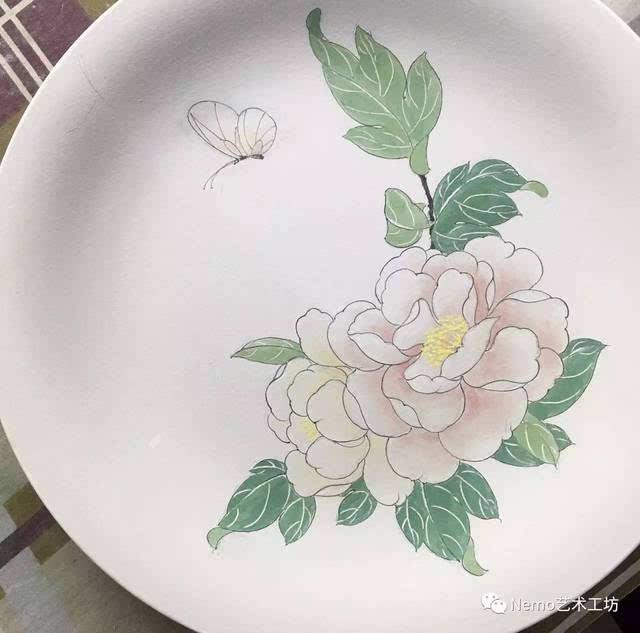手绘陶瓷盘|就是和外面的妖艳货不一样