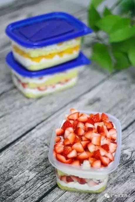优美西点|diy网红盒子蛋糕 靠这个能撑起一家店!