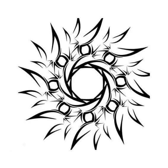 图腾纹身手稿