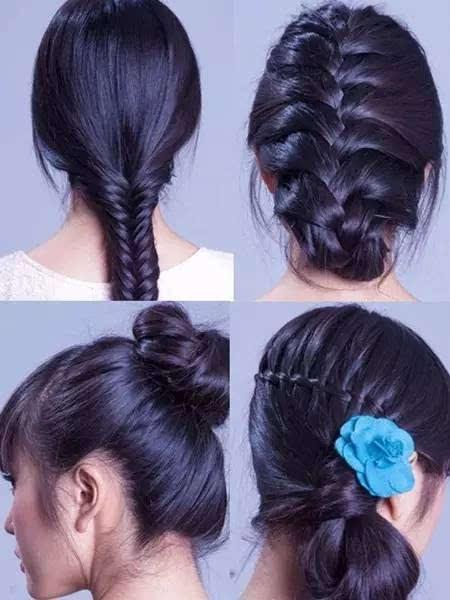 4款蜈蚣辫发型扎法,适合春天夏天~~速速学起来!