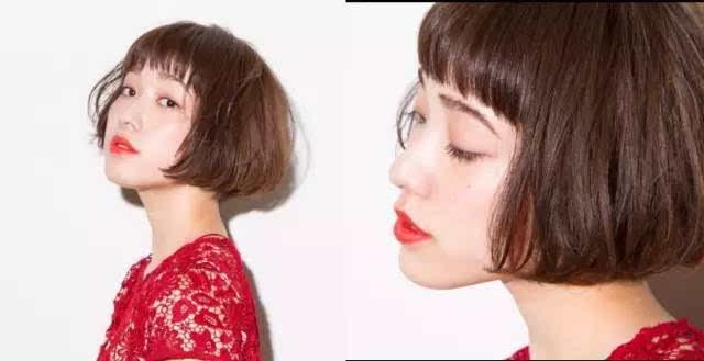 一群模特剪发