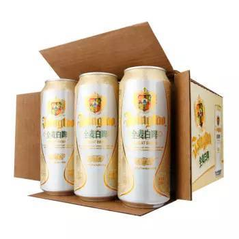 青岛啤酒罐装奥古特500ml*12 听装青岛纯生啤酒6罐*4组(500ml) ¥180