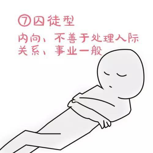 睡姿看性格!闷骚的人都这么睡!