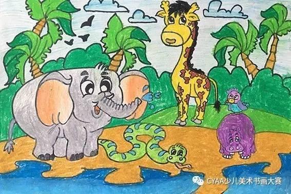 儿童画 567_378