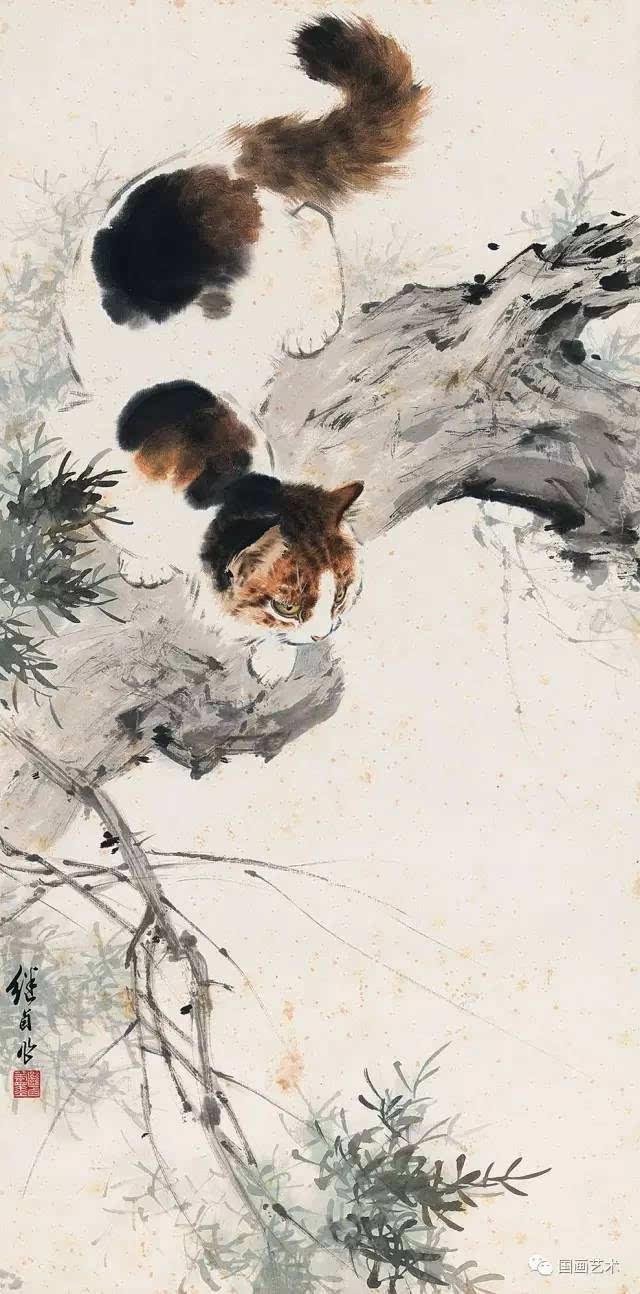 大师画猫 | 刘继卣作品欣赏