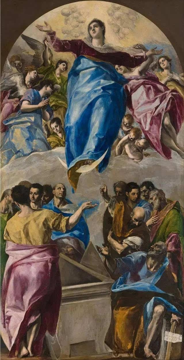 《圣母升天》(又称圣母被提升天,圣母蒙召升天)是一个有关圣母玛利亚