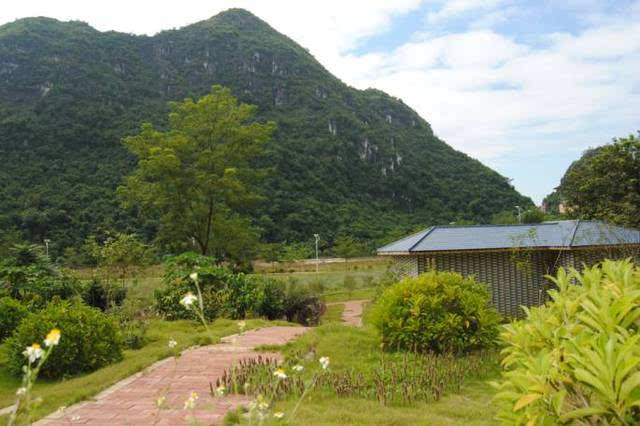 距离南宁2小时!扶绥有一家山美水美的星级山庄