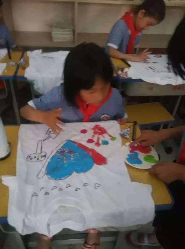 """【动感中队】""""diy手绘t恤,给自己一份特别的六一礼物"""""""