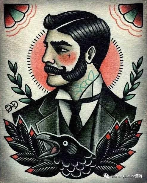 纹身图案|老传统与oldschool的复兴