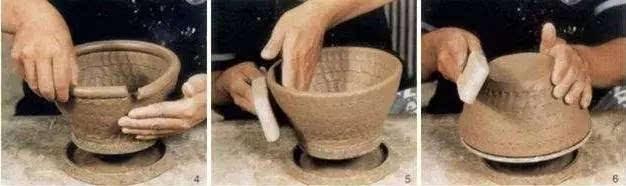 这节课,我们重点学习陶艺的基本成型方法以及泥条盘筑法.