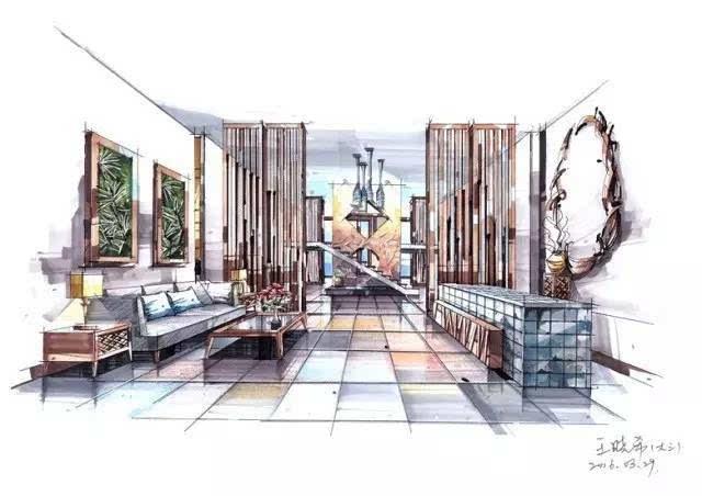 所在校区:卓越手绘林科大校区 年级专业:14级建筑学 姓名:杨锦 学校