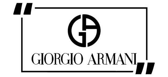 阿玛尼口红logo设计