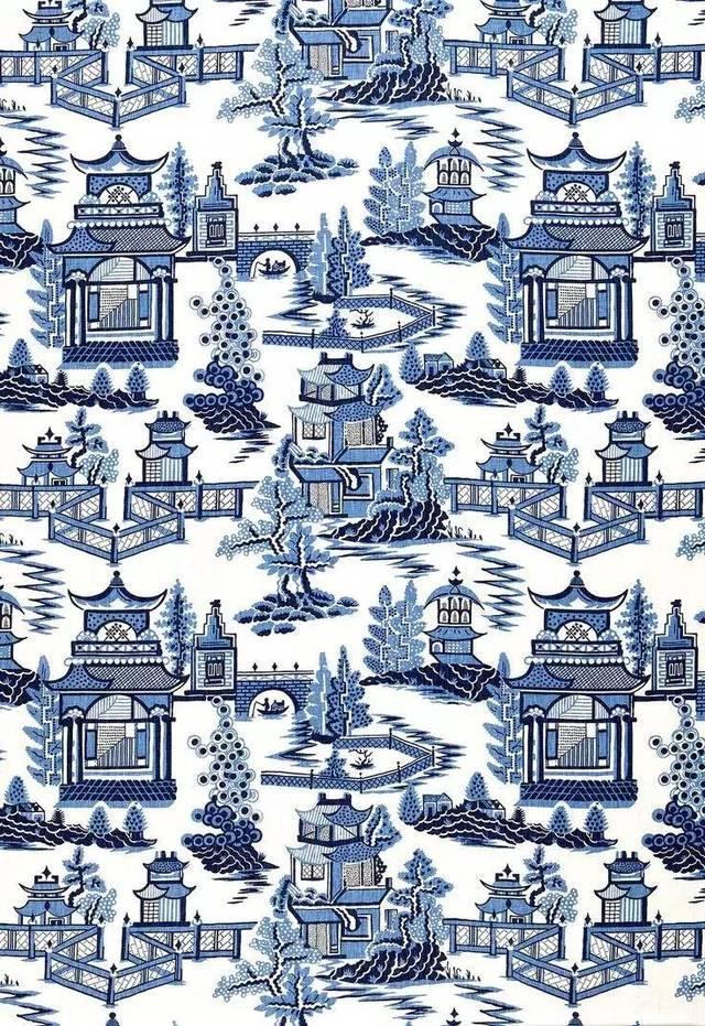 中国传统青花纹样艺术