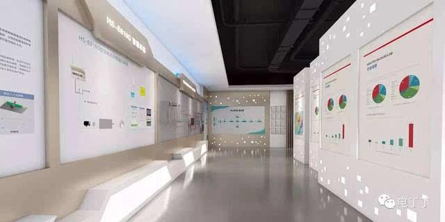 该展厅一方面以图文并茂的方式集中展现了企业成立以来的重大历史事件