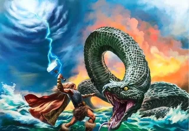 海洋探秘|海神传说——海神与巨蛇
