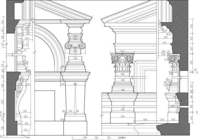 图37罗马法尔尼斯府邸券柱子图片