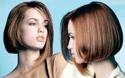 严格对称才好看, 有时候试一下不规则,不对称的短发, 才能感受到自然图片