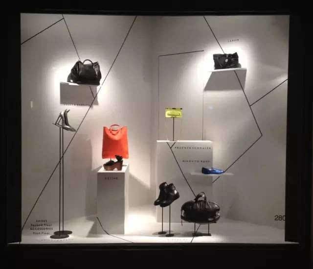 橱窗陈列设计的3种表现手法