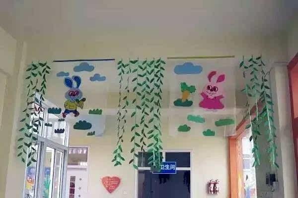幼儿园环境布置及手工制作