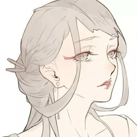 古风女生头像 | 只恋你化身的蝶