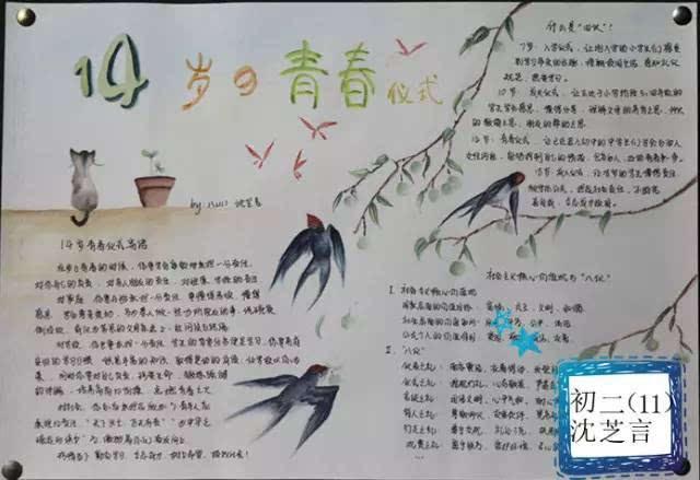 同学们认真地选材,精心设计,书写,绘画,制作出了精美的手抄报.