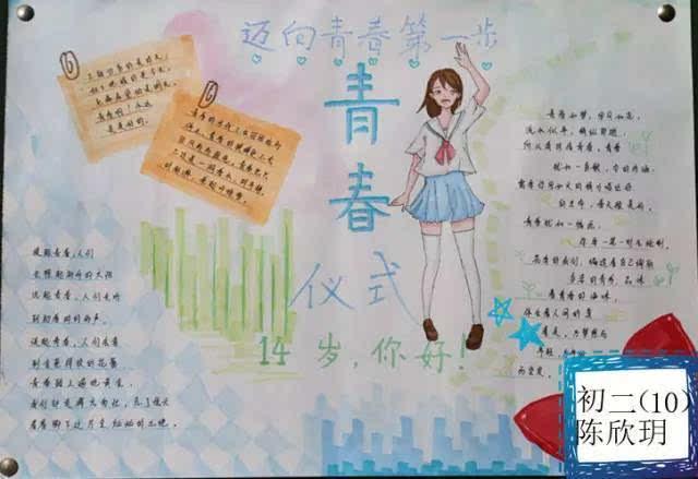 【学生作品】创文明校园手抄报评比活动