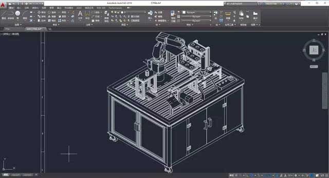 在我完成集成设计的过程中,autocad帮助我实现了头脑中的三维虚拟模型图片