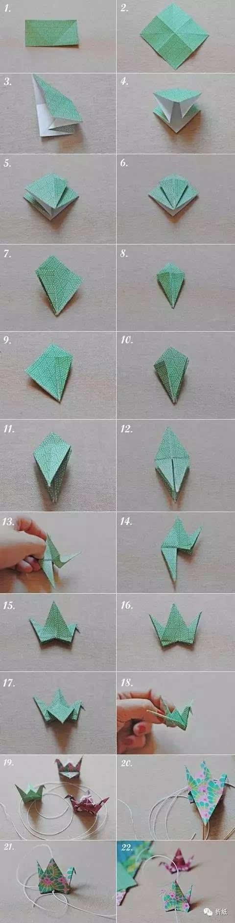 亲子手工之经典折纸,飞机星星和千纸鹤超详细教程