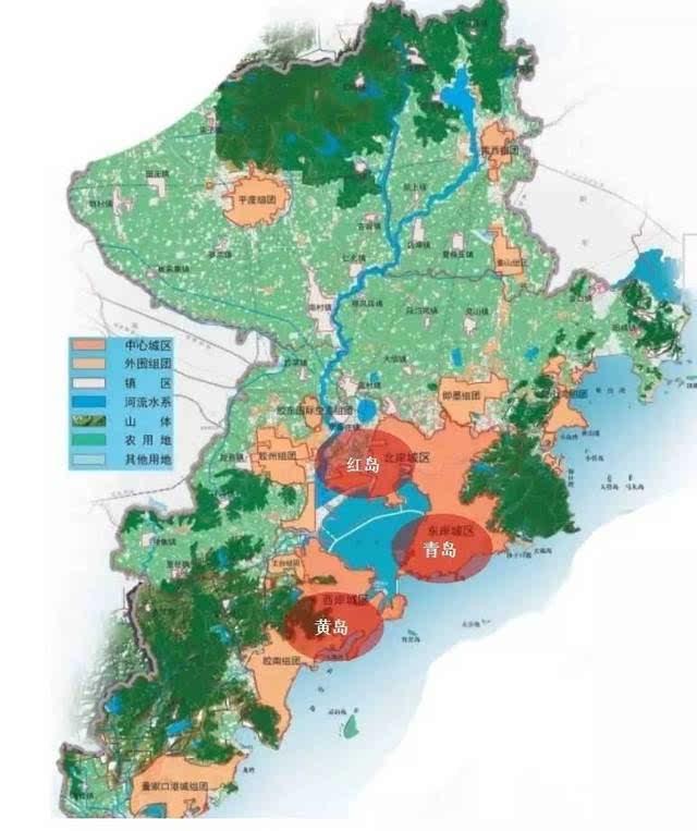 """国务院印发《关于青岛市城市总体规划的批复》,要求全面实施""""全域统"""