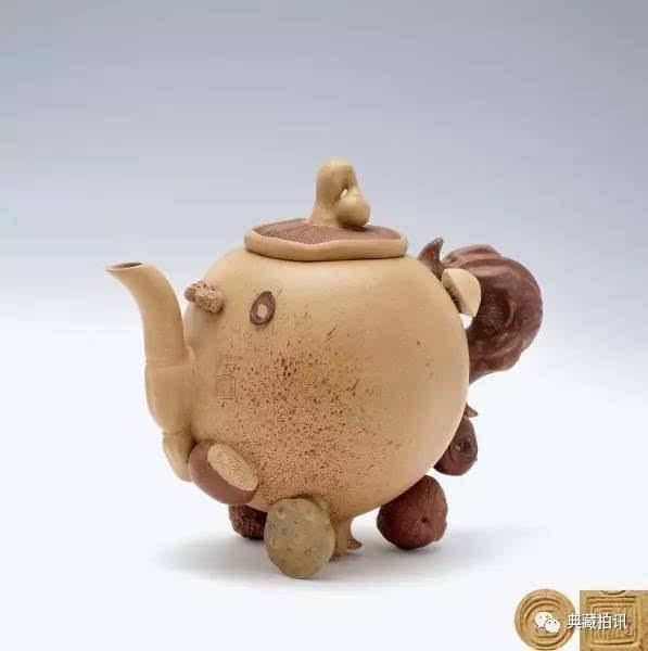 最新成交结果:2017中国嘉德春拍—紫泥菁英—紫砂古器