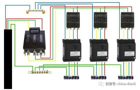 配电柜或总配电箱 分配电箱 开关箱,及二级漏电保护系统图片