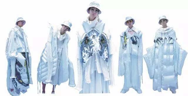 设计| 作品集锦:鲁迅美术学院2017届染织服装艺术设计