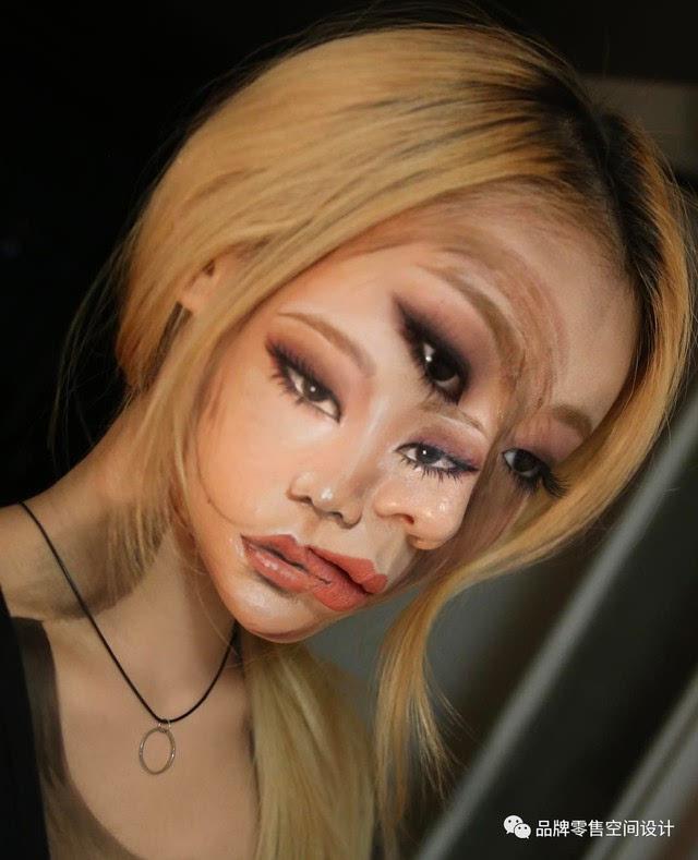 小妹妹人体艺术_韩国姑娘dain yoon以身体为画布创作出亦真亦幻的人体艺术
