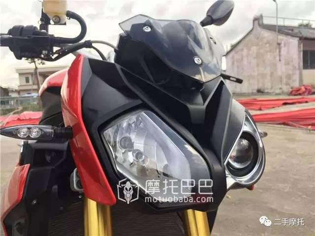 二手摩托 宝马 s 1000 r 四缸水冷街车大排量趴赛-摩托巴巴