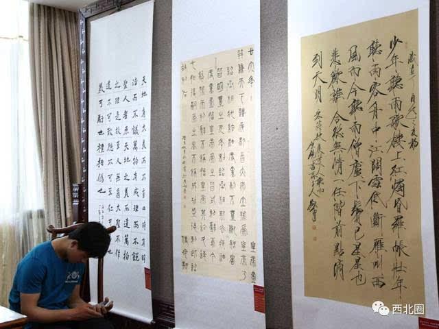 【喜讯】中国书法之乡甘肃镇原书画作品晋京展在民族文化宫隆重开幕图片