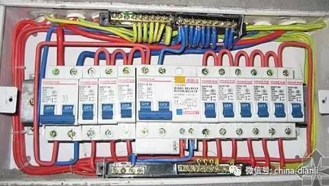 配电箱控制柜接线图,单相电和三相电基础知识!