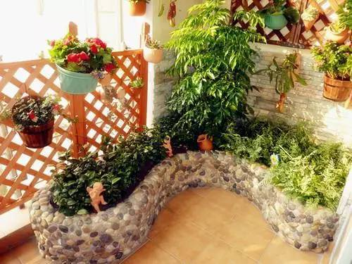 diy阳台花池搭建,灵感打造空中小花园!图片