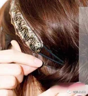 夏季中长发发型盘发图解,更显时尚,有女人味!图片