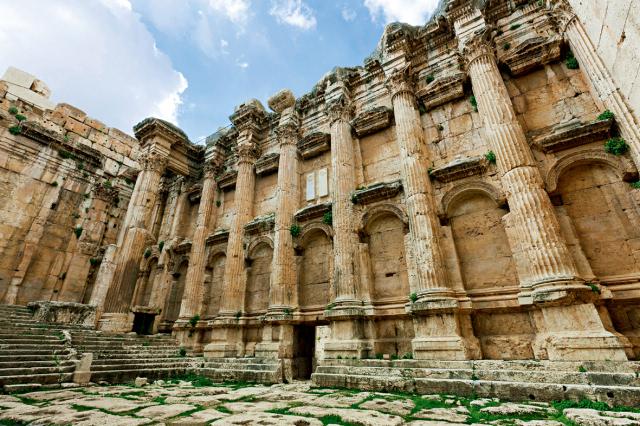 """古代世界最著名的圣殿之一:黎巴嫩 巴勒贝克神庙——走进""""一带一路"""""""