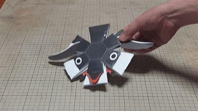创意| 弹弹弹,弹出小企鹅!这些会动的折纸厉害了