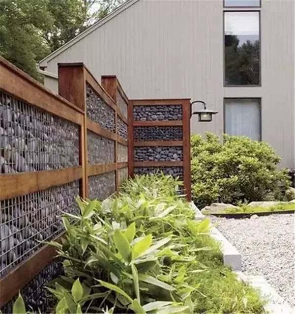如果有个民宿院子,围墙一定这么设计图片