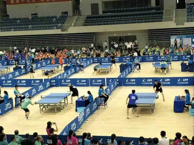武清体育中心迎来了第一次赛事~场面宏大!