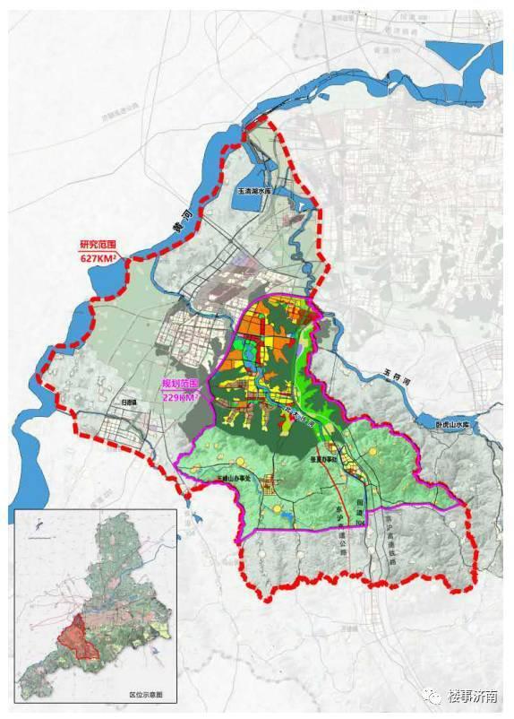 章丘枣园2020年规划图