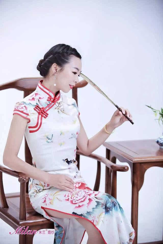 旗袍的裁剪方法图纸