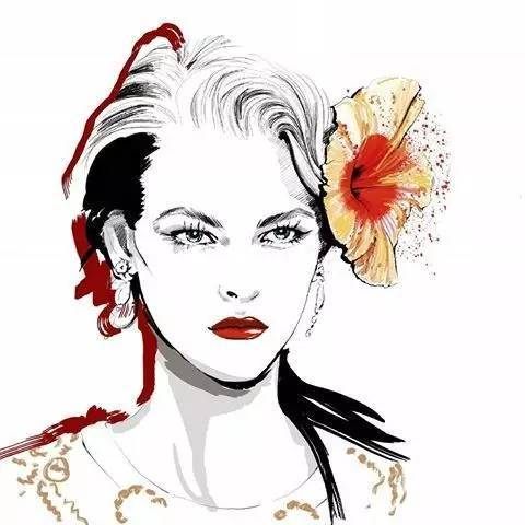 简单易上手的水彩人物插画,你喜欢么?