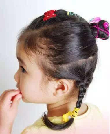 10款好看的小女孩盘发造型,让小公主每天美美哒