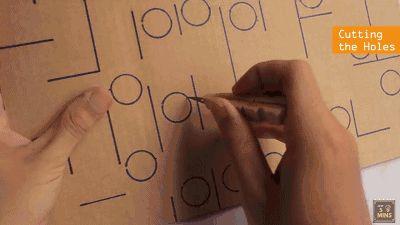 纸皮手工制作大全过程