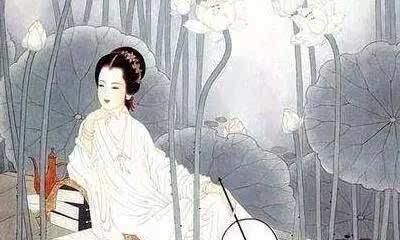 古代女子画眉手绘