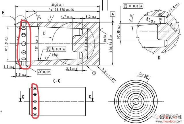 冲压模具设计高清图纸