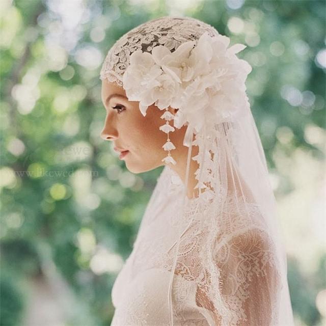 新娘造型选头纱攻略,不看脸型怎么行?图片